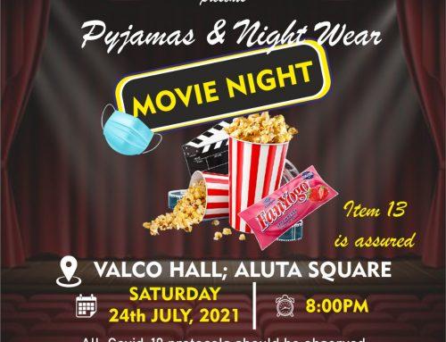 PYJAMAS AND NIGHT WEAR MOVIE NIGHT!